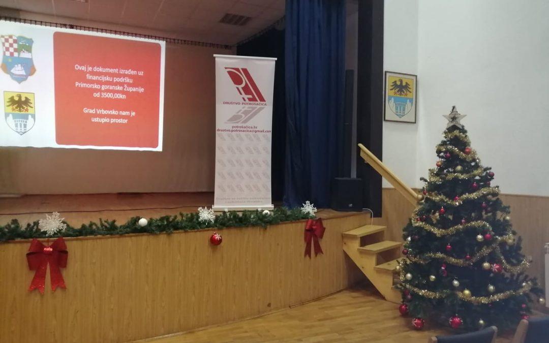 Održana tribina u Vrbovskom