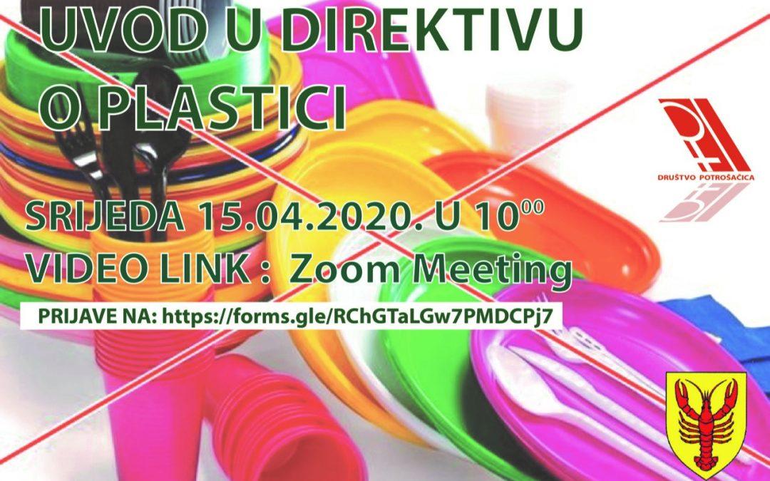 Uvod u Direktivu o plastici