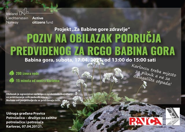 Inicijativa za Babinu goru poziva na obilazak lokacije