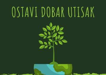 """Konferencija o budućnosti Europe – """"Promijeni svoj ekološki otisak i ostavi dobar utisak"""""""
